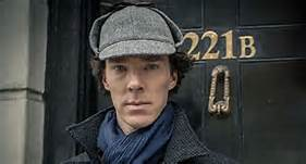 Sherlock with hat