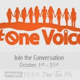 #OneVoice: YA Authors Take a Stand Against Bullying