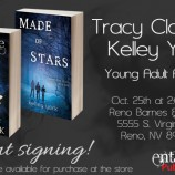 Joint signing between Tracy Clark and Kelley York in Reno this October