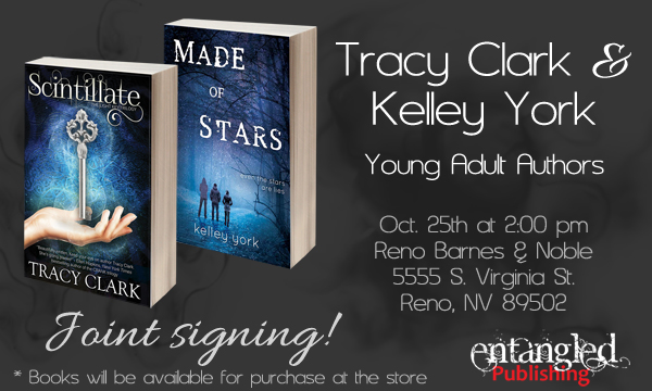 Joint signing between Kelley York and Tracy Clark