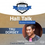 Austin NextGen Academy's Hall Talk Student Interviews With Tru Dorsey