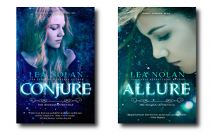 Conjure and Allure - New Covers Side by Side