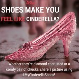 #MyCinderellaShoes: What Shoes Make You Feel Like Cinderella?