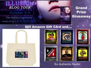 REVISED ILLUSION Blog Tour Giveaway