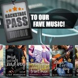 Get a Backstage Pass to the Backstage Pass authors' fave music!