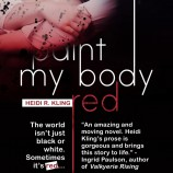 Contest Winner: Paint My Body Red Poster Designer