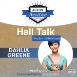 Austin NextGen Academy's Hall Talk Student Interviews with Dahlia Greene