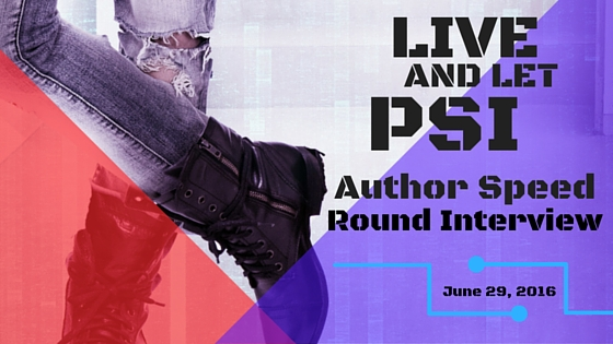 Live And Let Psi Author Speed Round Interview