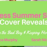 Cover Reveals: Daring the Bad Boy by Monica Murphy and Keeping Her Secret by Sarah Nicolas!