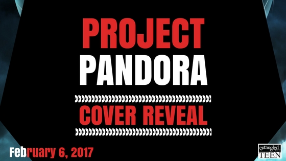 Project Pandora Cover Reveal
