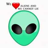 We ❤️ Aliens and We Cannot Lie