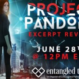 Excerpt Reveal: Project Pandora by Aden Polydoros