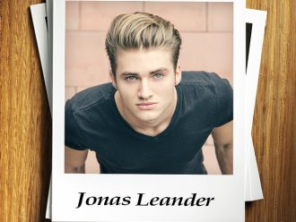 Swoon Sunday with Jonas Leander from The Third Kiss by Kat Colmer!