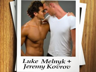 Swoon Sunday with Luke Melnyk & Jeremy Kovrov from The Uncrossing by Melissa Eastlake!
