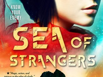 Swoon Sunday with Tessen and Lo'a from Sea of Strangers by Erica Cameron!