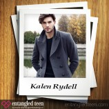 Swoon Sunday with Kalen Rydell from The Vanishing Spark of Dusk by Sara Baysinger!