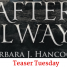 Teaser Tuesday: After Always by Barbara J. Hancock