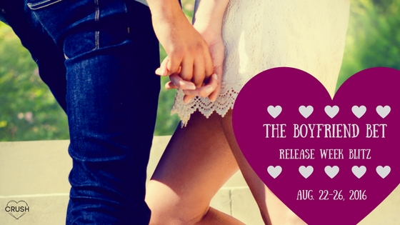 The Boyfriend Bet Release Week Blitz - Blog Banner